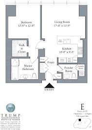 Floor Plan Lending Trump Tower Chicago 401 N Wabash Floor Plans Views