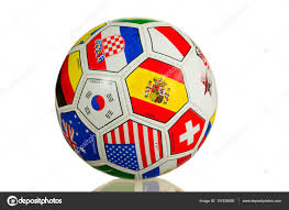 Football Country Flags Ball For Soccer With Flags Of Countries U2014 Stock Photo Karbunar