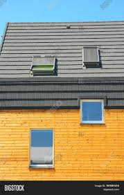 new building house energy efficiency solution concept outdoor