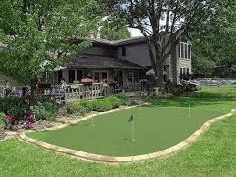 backyard putting green designs 1000 images about backyard ideas on