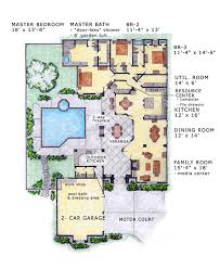 southwest floor plans house plan 56530 at familyhomeplans com