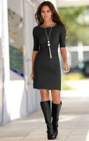 dresses with boots dresses with black boots women s style
