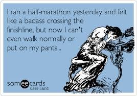 Running Marathon Meme - my advice for new runners advice half marathons and running