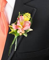 boutonniere prom pastel potpourri prom boutonniere in milford de plant flower