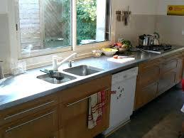 plan de travail inox cuisine professionnel design d intérieur plan travail inox cuisine de en pour
