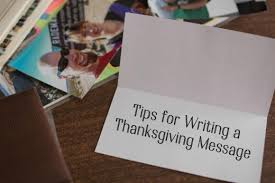 thanksgiving messages to write in a card holidappy