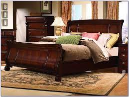 Queen Sleigh Bedroom Set Mood Alisdair Traditional Brown Wood Pc - Amazing north shore bedroom set property