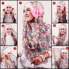 tutorial hijab resmi caca attun6 di pinterest