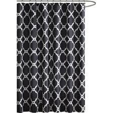 Black White Shower Curtain Black Shower Curtains You Ll Wayfair