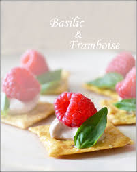 Easy Appetizers Easy Appetizer Recipe Raspberry Basil Canapés