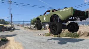 trophy truck wwi army livery gta5 mods