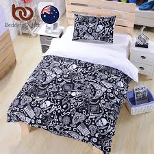 Cheap Black Duvet Covers Online Get Cheap Black Double Duvet Covers Aliexpress Com