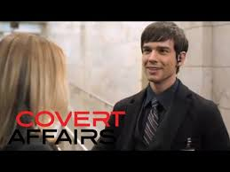 Covert Affairs Blind Guy Covert Affairs Auggie S01e01 Youtube