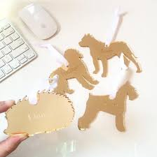 moon and lola personalized labradoodle ornament