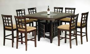 Tall Dining Room Sets Modern Ohana White Counter Height Dining Table 1393w 36