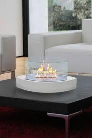 Portable Indoor Outdoor Fireplace by Eco Feu Santa Cruz 2 Sided Biofuel Fireplace Santa Cruz