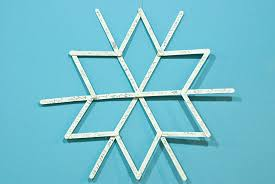 how to make sized popsicle stick snowflakes factory direct