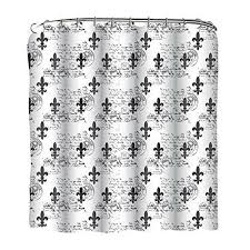 Fleur De Lis Shower Curtains Curtains Ideas Fleur De Lis Shower Curtain Inspiring Pictures