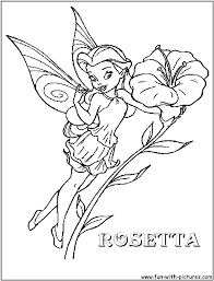 disney fairies coloring page free download