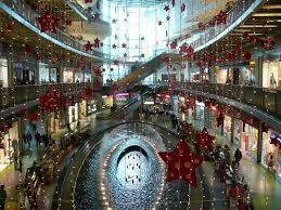 Christmas Decorations For Shopping Centres christmas decorations shopping centre porto nen gallery