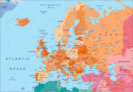 atlas map of europe map of europe politically in the atlas world throughout