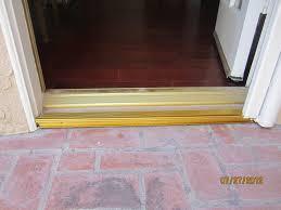 Exterior Door Threshold Installation Miraculous Front Door Threshold How To Replace Front Door