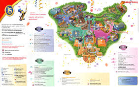 Hollywood Usa Map by Park Maps Join The Party Reveal Secrets U2014 Dlp Today U2022 Disneyland