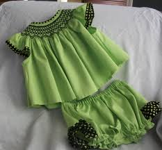 smocked dresses baby smocked cotton dress for newborn to 3