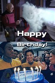 Happy Birthday Star Trek Meme - bruce s blog my birthday blog extravaganza