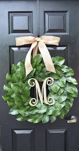 magnolia leaf wreath magnolia wreath fixer magnolia wreath magnolia leaves