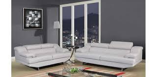 Light Gray Leather Sofa U8141 Lgr Light Grey Leather Sofa Set 3pc