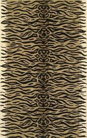 Zebra Print Rug With Pink Trim Antelope Rug Grey Ledesma Pewtergray Area Rug Antelope Rug View