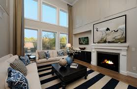 the bradley model two story family room raleigh nc drees homes