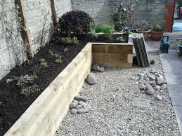 Gardens With Sleepers Ideas Build A Raised Garden Bed With Sleepers Home Outdoor Decoration