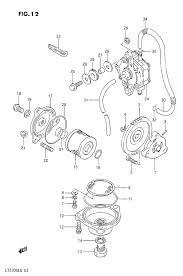 1986 suzuki lt230 lt230g oil pump fuel pump parts best oem oil