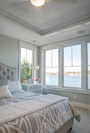 Love This Pressed Tin Ceiling Neutral Beach House Master Bedroom - Beach design bedroom