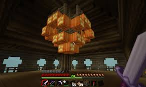 Glowstone Chandelier Tower Building Screenshots Show Your Creation Minecraft