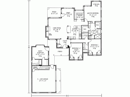 house plans with detached guest house eplans cottage house plan three bedroom cottage