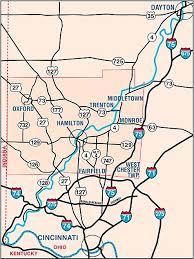dayton map bceo butler county ohio maps