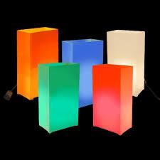 home depot black friday 2 pack lighted deer lumabase multi color electric luminaria kit set of 10 60710