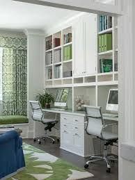 Shelves For Office Ideas This Home Office Located Just Off The Kitchen Acts As A Control