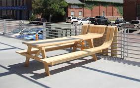 Picnic Table Plans Free Pdf by Picnic Bench Design Wooden Plans Side Table Woodworking Plans