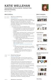 Marketing Resume Examples by Director Of Marketing Resume Samples Visualcv Resume Samples
