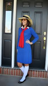 30 last minute halloween costume ideas using a blue dress simple