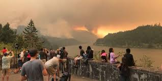 Wildfire Ash Car Wash by Eagle Creek Fire Jumps Across Columbia River From Oregon To Washington