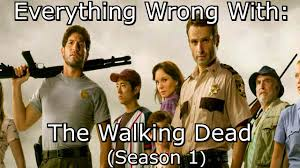 Walking Dead Meme Season 1 - everything wrong with the walking dead season 1 youtube