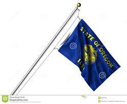 Maine Flag Image Isolated Oregon Flag Stock Illustration Image Of Clipping 8681069