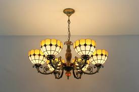 Diy Glass Chandelier Tiffany Stained Glass Chandelier Wonderful On Home Furnishing For