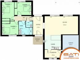 plan maison contemporaine plain pied 3 chambres plan maison plain pied en l recherche house