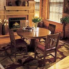 Arts And Crafts Dining Room Furniture Pedestal Dining Table Dining Room Craftsman With Arts Crafts